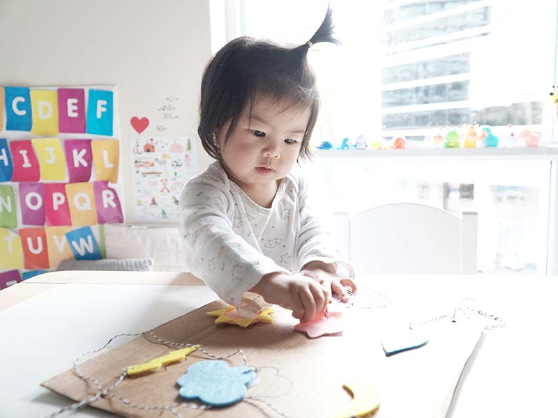 DIY Weather Shape Puzzle for Toddlers